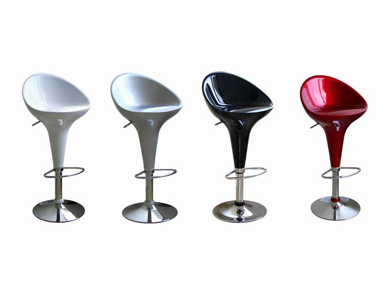 Kappa Barstool C302-black-red-silver-white