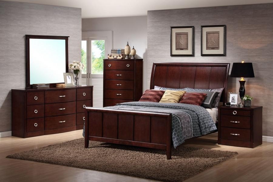 Argonne Queen 5 Piece Wooden Modern Bedroom Set