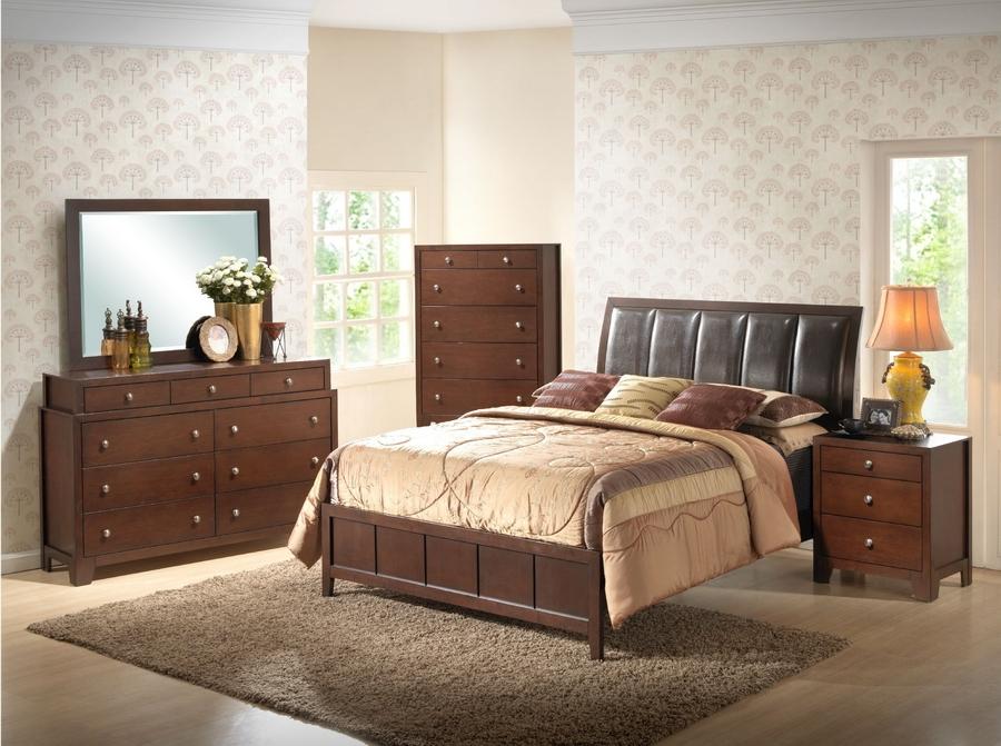 Butler Brown Queen Size Modern Bedroom Set