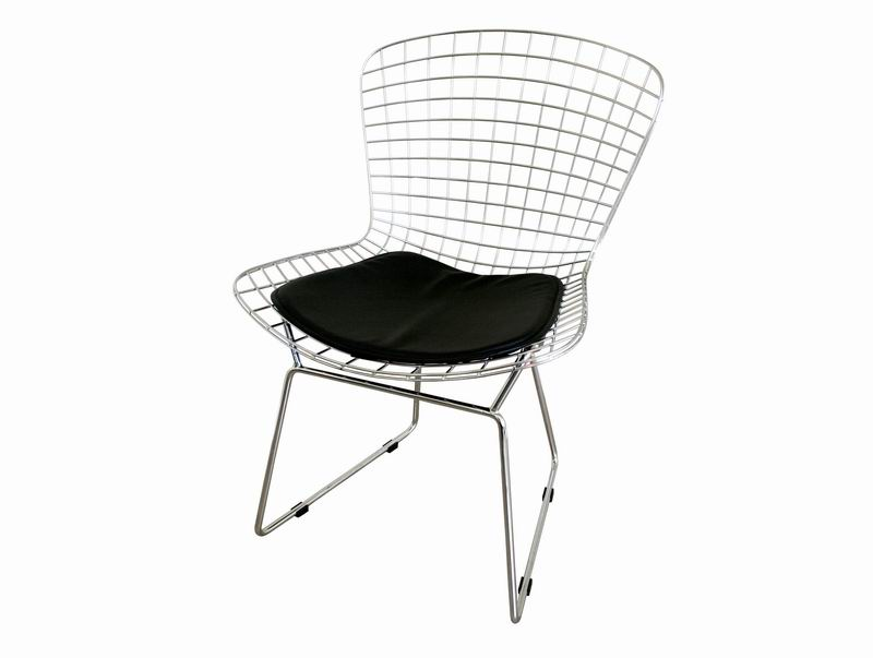 Bertoia Style Wire Side Chair