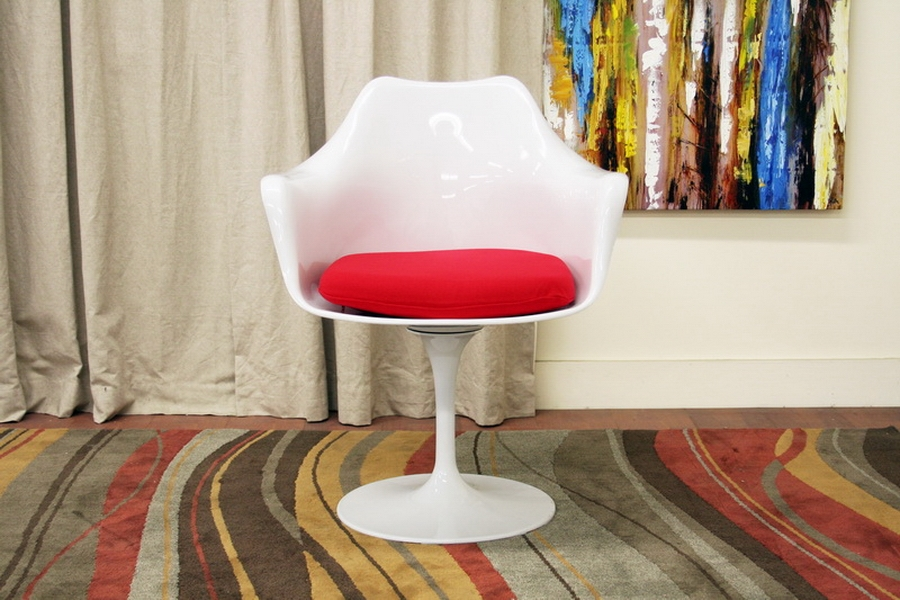 Plastic Molded Tulip Chair