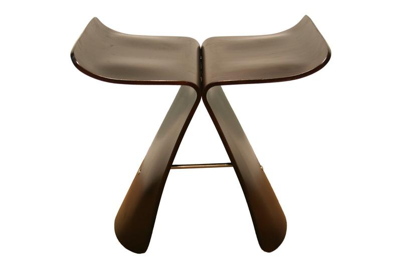 Dark Brown Bentwood Chair