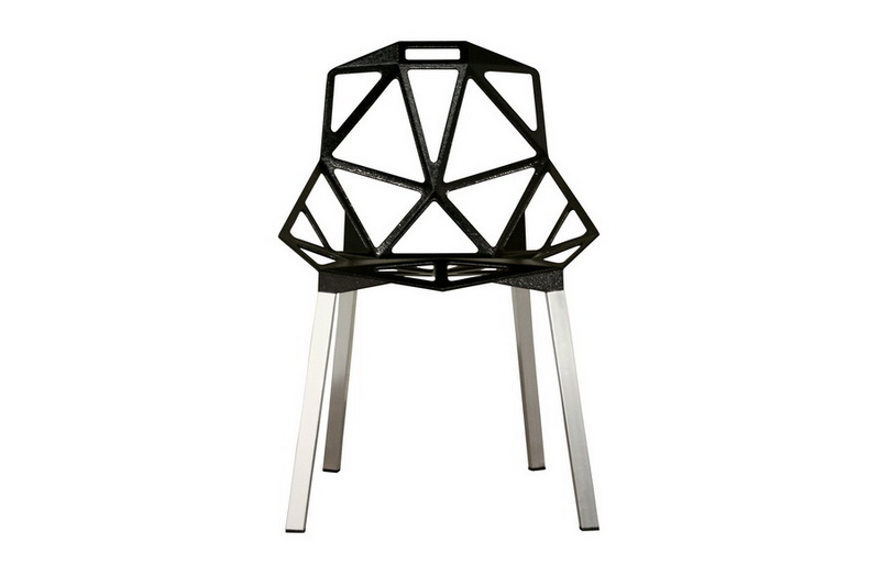 Kaysa Black Accent Chair