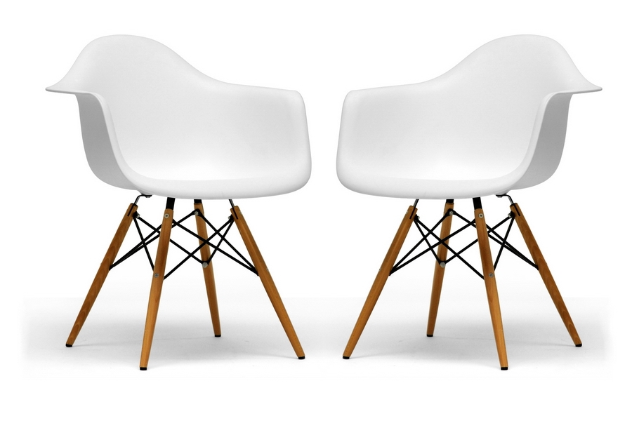Pascal Plastic Chair Set of 2