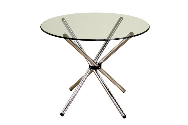 Bar Table Myles Glass Top Round