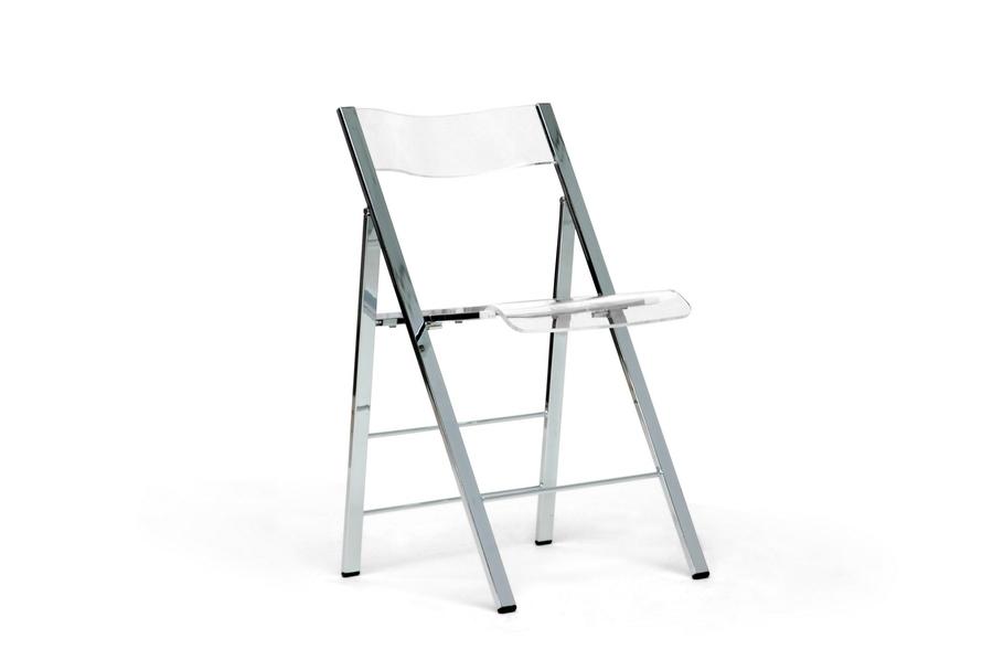 Acrylic Foldable Chair