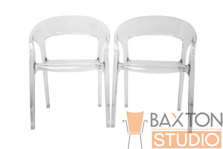 Chole Acrylic Clear Chair Set of 2