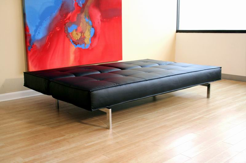 Sofa Beds Contemporary Armless Convertible Sofa Bed by Coaster