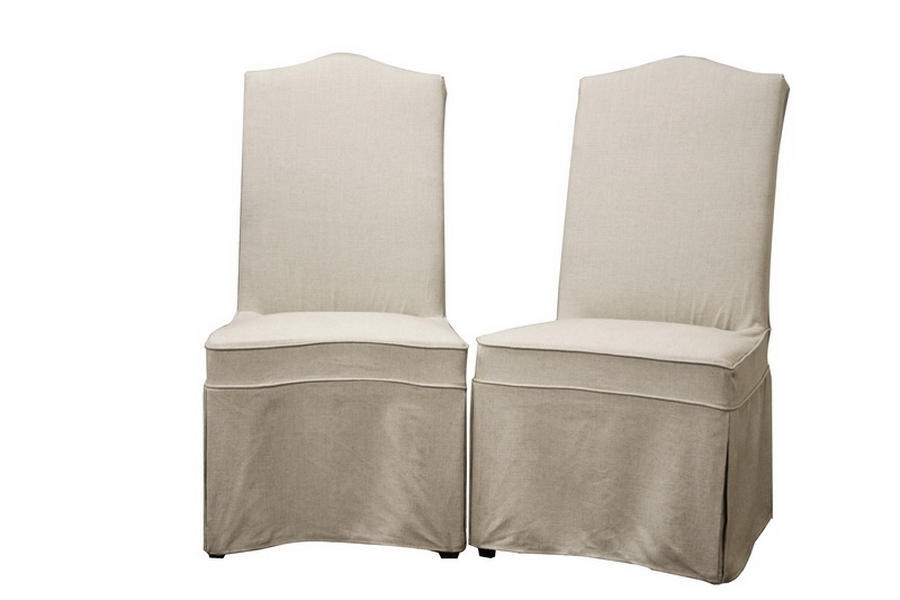 ModerN Candace linen slipcover dining set of 2 chairs eBay : Y 923 CW 018 from ebay.com size 900 x 600 jpeg 158kB