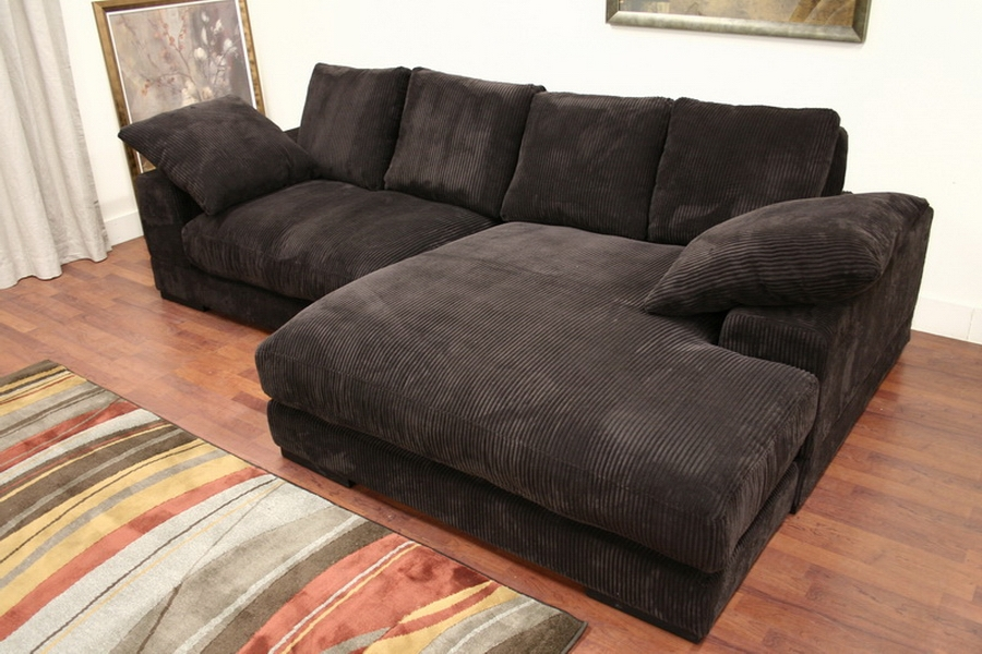 Modern phoenix dual configuration fabric sectional sofa for Sectional sofa configurations