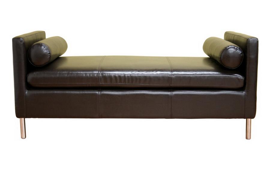 Chrissie Dark Brown Bench Modern Contemporary Ebay