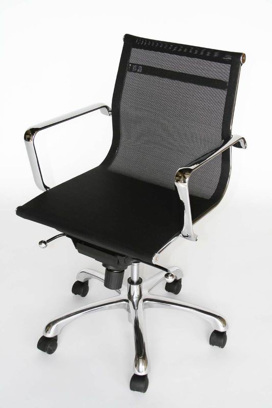 Chrome frame and mesh seat Office Chair