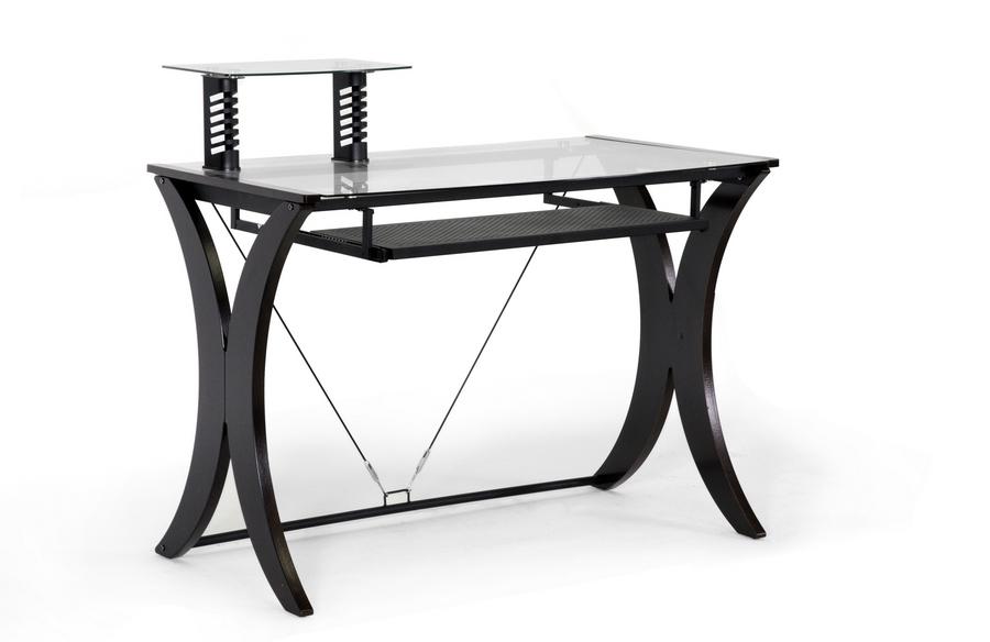 Xavier Dark Brown Modern Computer Desk