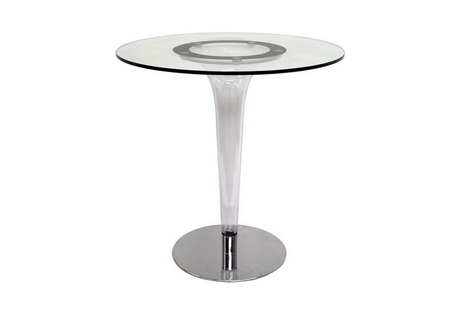 Bistro Table Simi Modern Glass