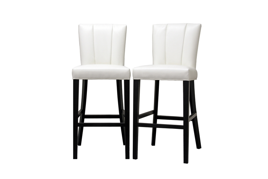Barstool Janvier Off-White Leather