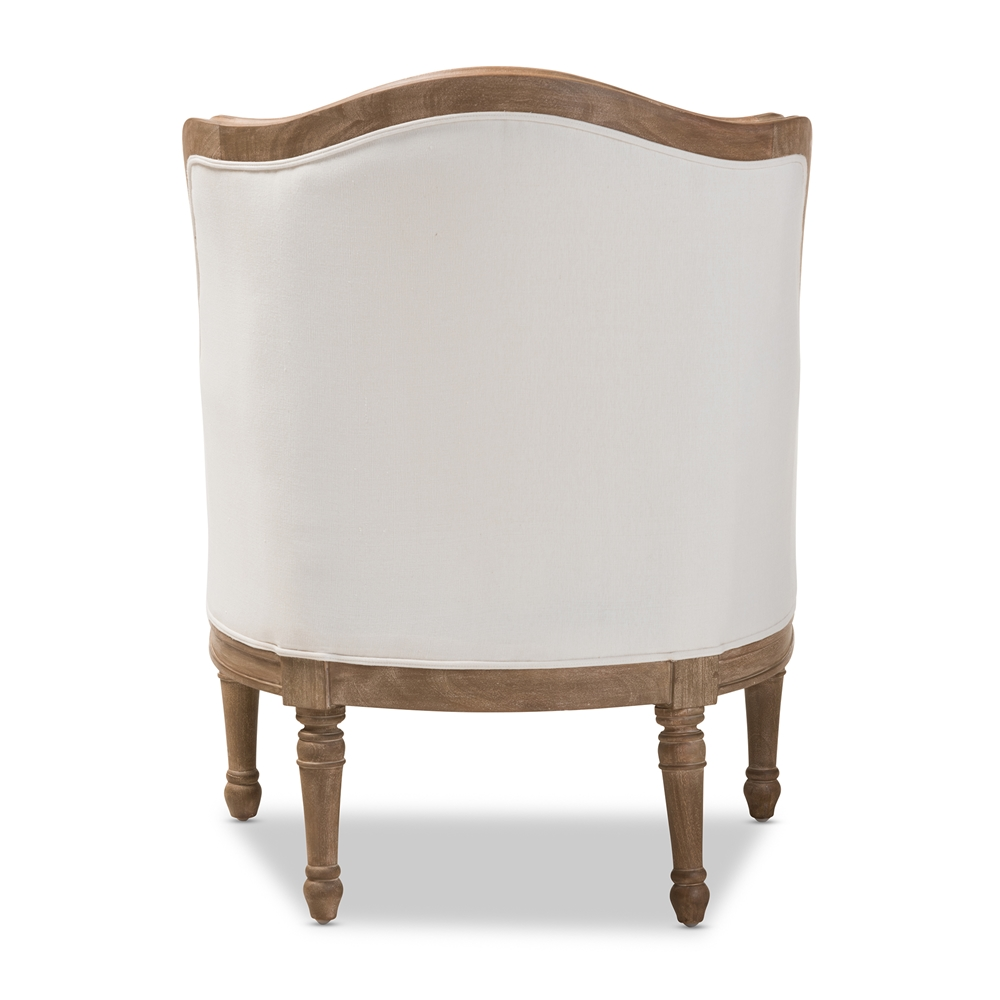 Baxton Studio Charlemagne Traditional French Accent Chair