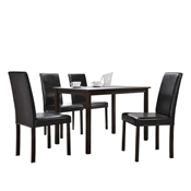 Baxton Studio Andrew 5-Piece Modern Dining Set Baxton Studio Andrew 5-Piece Modern Dining Set, wholesale furniture, restaurant furniture, hotel furniture, commercial furniture