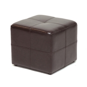 Baxton Studio Nox Dark Brown Ottoman Nox Dark Brown Ottoman wholesale, wholesale furniture, restaurant furniture, hotel furniture, commercial furniture
