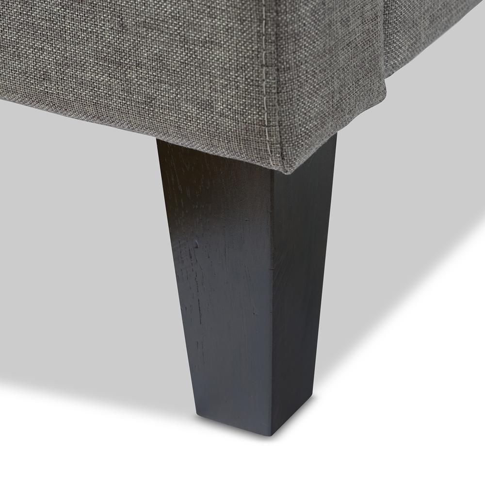 Bbt Stock Quote: Baxton Studio Quincy Gray Linen Platform Bed