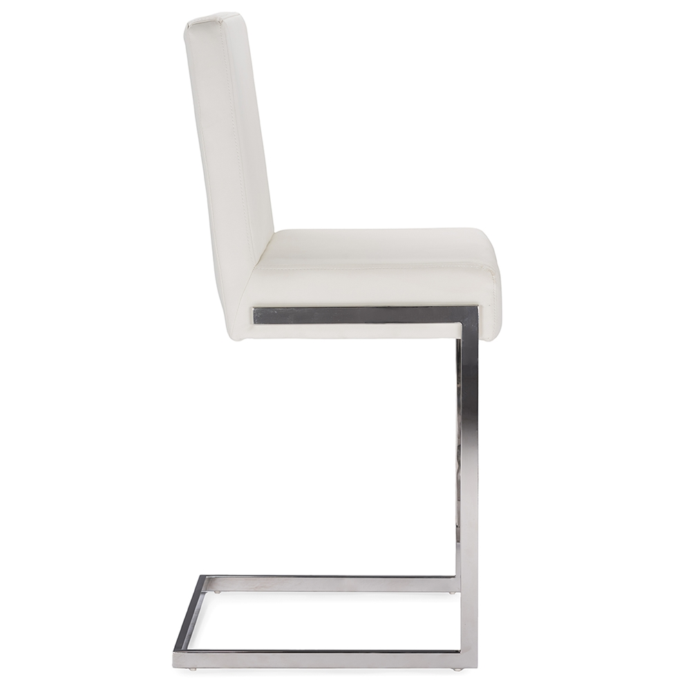 Baxton Studio Toulan Modern And Contemporary White Faux