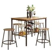 Baxton Studio Vintner Pub Set Baxton Studio Vintner Pub Set, wholesale furniture, restaurant furniture, hotel furniture, commercial furniture