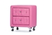 Baxton Studio Stella Crystal Tufted Pink Leather Modern Nightstand - BBT3084-Pink-NS