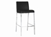 Baxton Studio Mesa Black Leather Bar Stool (Set of 2) - ALC-2213-75 Black
