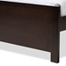 Baxton Studio Catalina Modern Classic Mission Style Dark Brown-Finished Wood Twin Platform Bed with Trundle - HT1702-Espresso Brown-Twin-TRDL