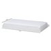 Baxton Studio Payton Modern and Contemporary White-Finished Twin Trundle - HT-White-Trundle