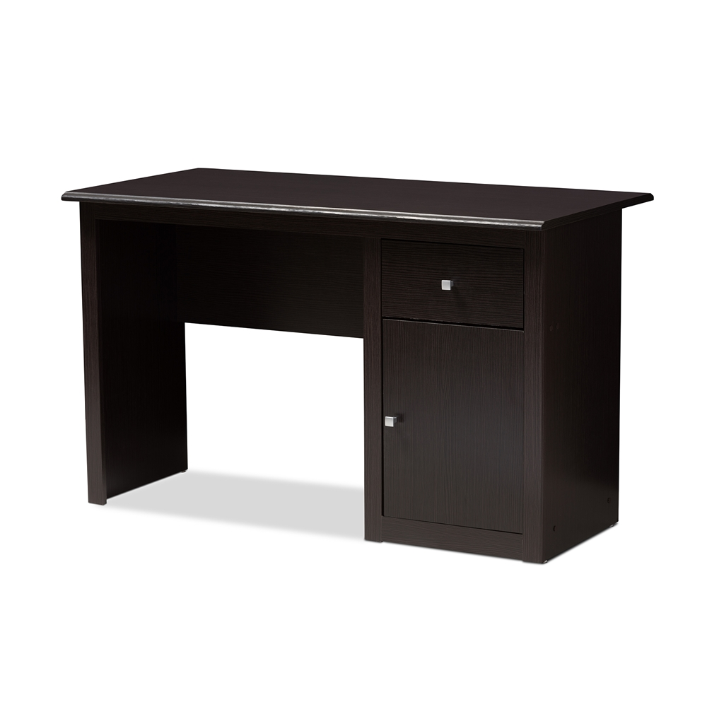 Baxton Studio Belora Modern and Contemporary Wenge Brown Finished Desk