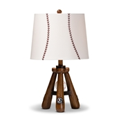 Baxton Studio Ramiro Modern and Contemporary Baseball Table Lamp Baxton Studio restaurant furniture, hotel furniture, commercial furniture, wholesale lighting, wholesale Table Lamps, classic Table Lamps