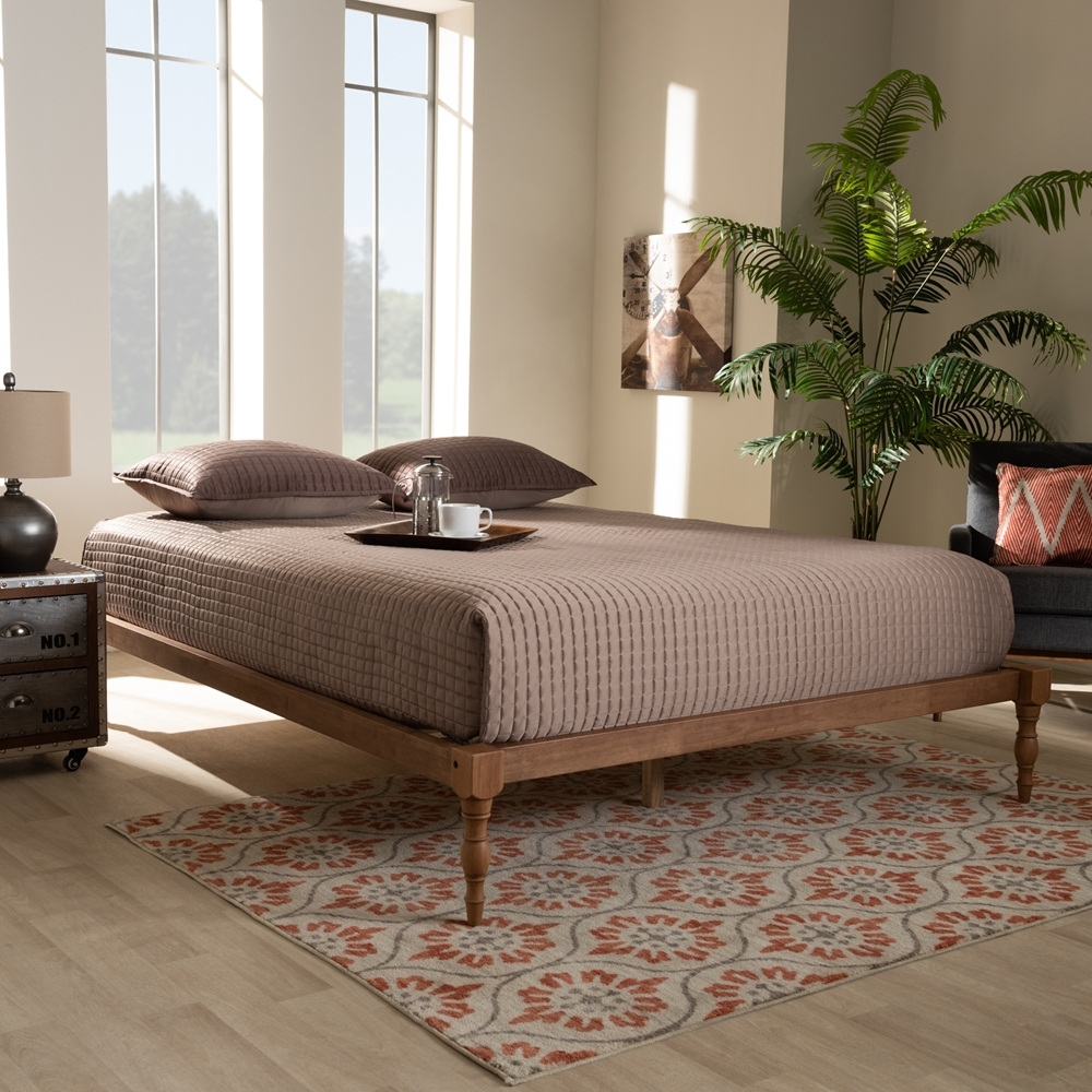 Roma Walnut Contemporary Bed: Wholesale Bedroom Furniture