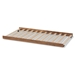 Baxton Studio Veles Modern and Contemporary Ash Walnut Finished Twin Size Trundle Bed - MG0016-24-Ash Walnut-Trundle
