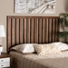 Baxton Studio Oren Modern and Transitional Ash Walnut Finished Wood Queen Size Headboard - MG9744-Ash Walnut-HB-Queen