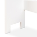 Baxton Studio Campbell Modern and Contemporary White Finished Wood Over the Toilet Bathroom Storage Cabinet - SR203099-White-Cabinet