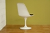 Baxton Studio White Plastic Side Chair - DC-211B-white