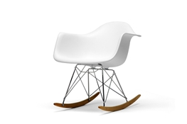 Baxton Studio White Plastic Rocking Chair White Plastic Rocking Chair wholesale, wholesale furniture, restaurant furniture, hotel furniture, commercial furniture