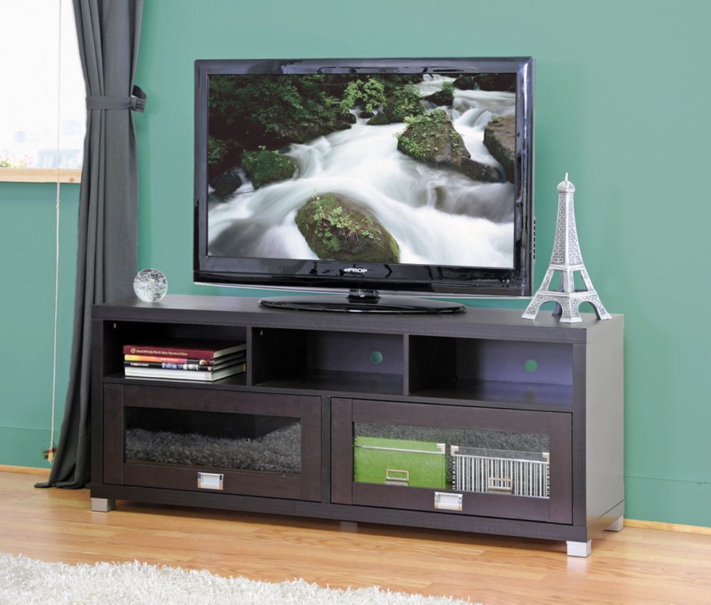 Swindon Modern Tv Stand With Glass Doors Wholesale Interiors