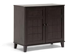 Glidden Dark Brown Wood Modern Shoe Cabinet (Short) Baxton Studio Glidden Dark Brown Wood Modern Shoe Cabinet (Short), wholesale furniture, restaurant furniture, hotel furniture, commercial furniture