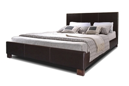 Pless Dark Brown Modern Bed - Queen Size Baxton Studio Pless Dark Brown Modern Bed - Queen Size, wholesale furniture, restaurant furniture, hotel furniture, commercial furniture