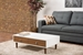 Baxton Studio Gemini Wood Contemporary Coffee Table - WI5482-Walnut-CT